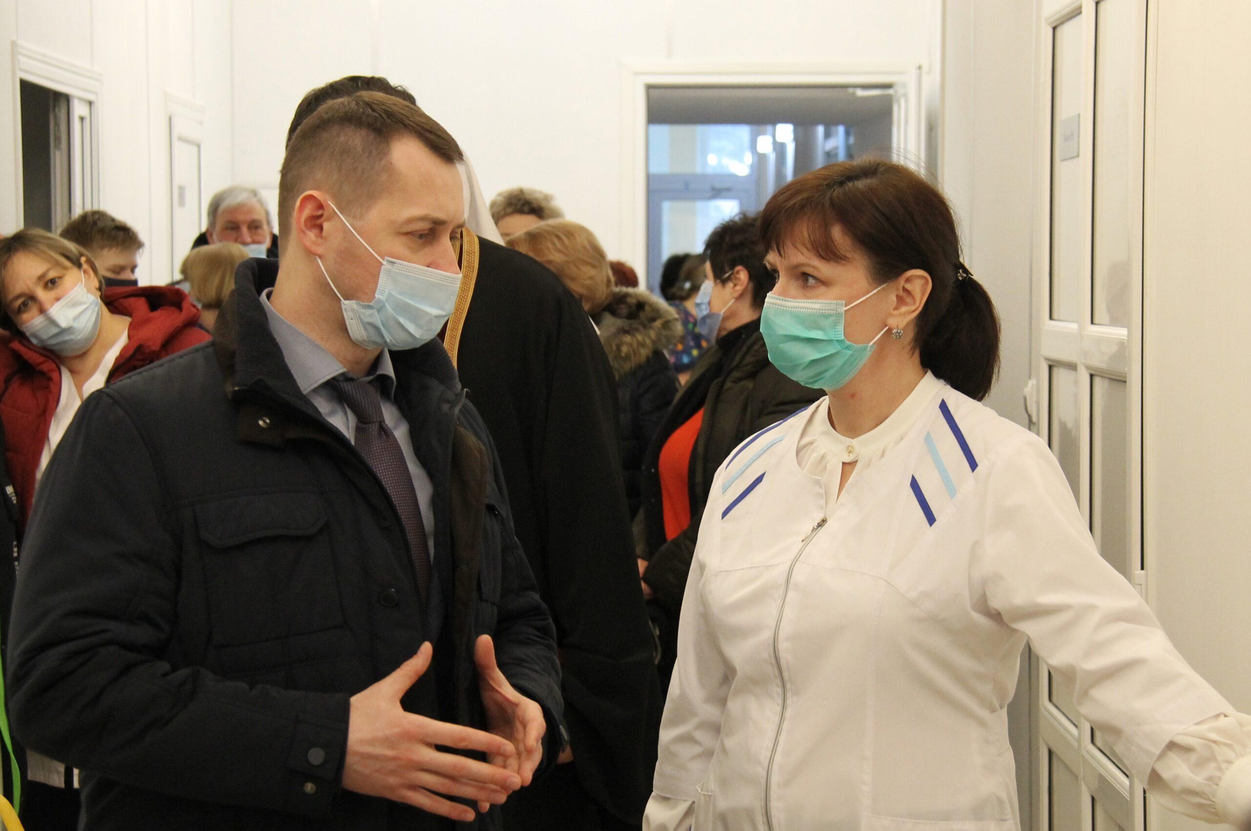В Азове состоялось открытие паллиативного отделения