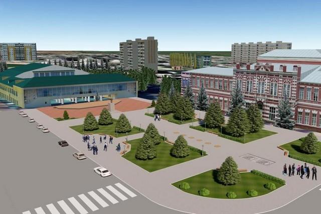 На Дону благоустроят 126 общественных пространств в рамках нацпроекта