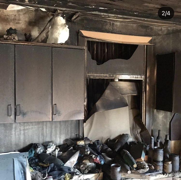 Загорание дома в ДНТ «Мичуринец – 3»