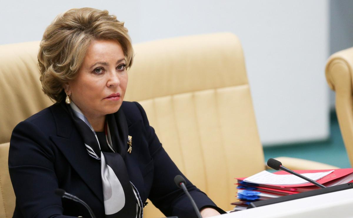 Матвиенко предрекла избавление России от ковид-ограничений раньше других стран