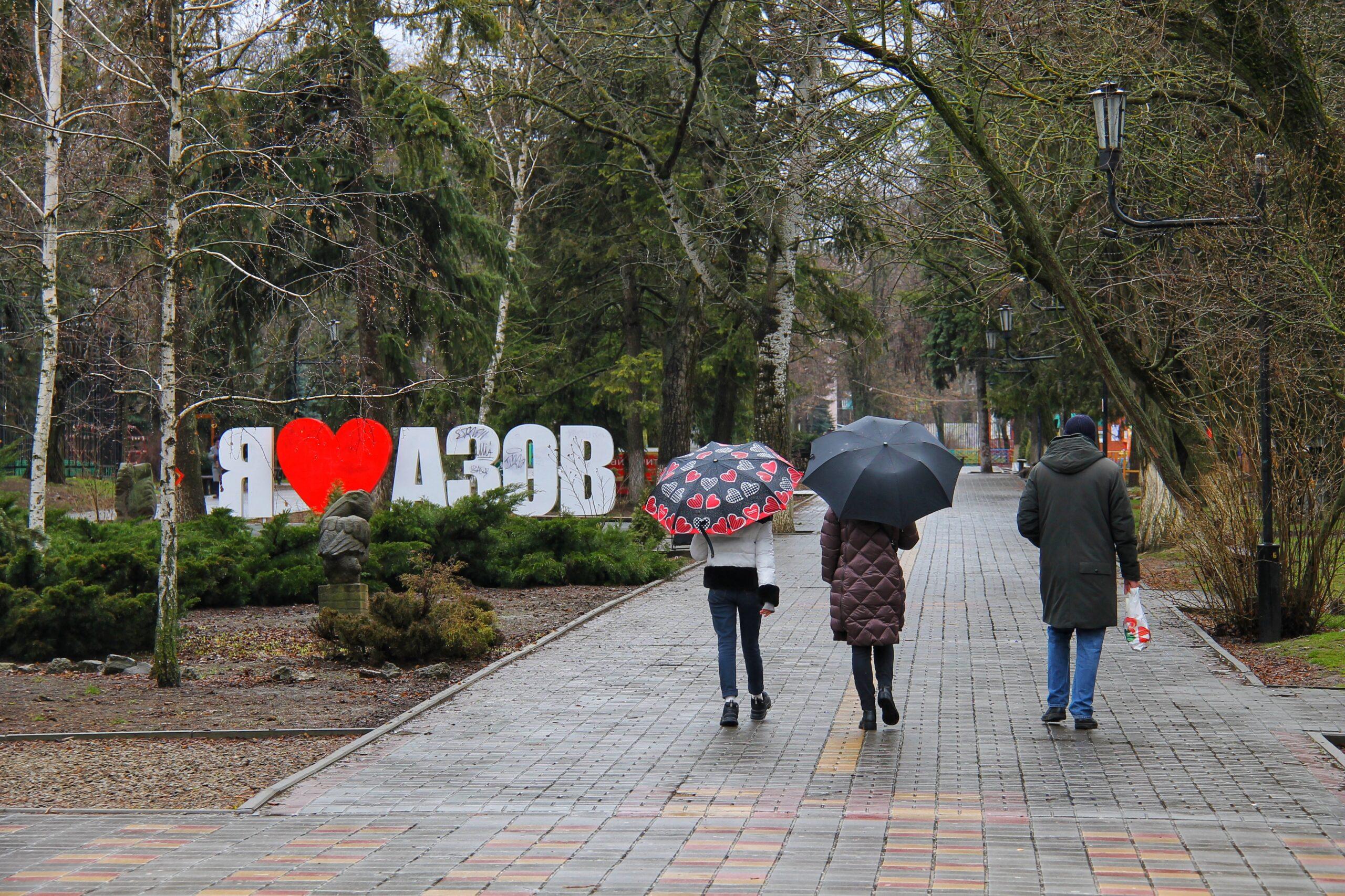 Тепло и дождь: какая погода ждет азовчан на рабочей неделе