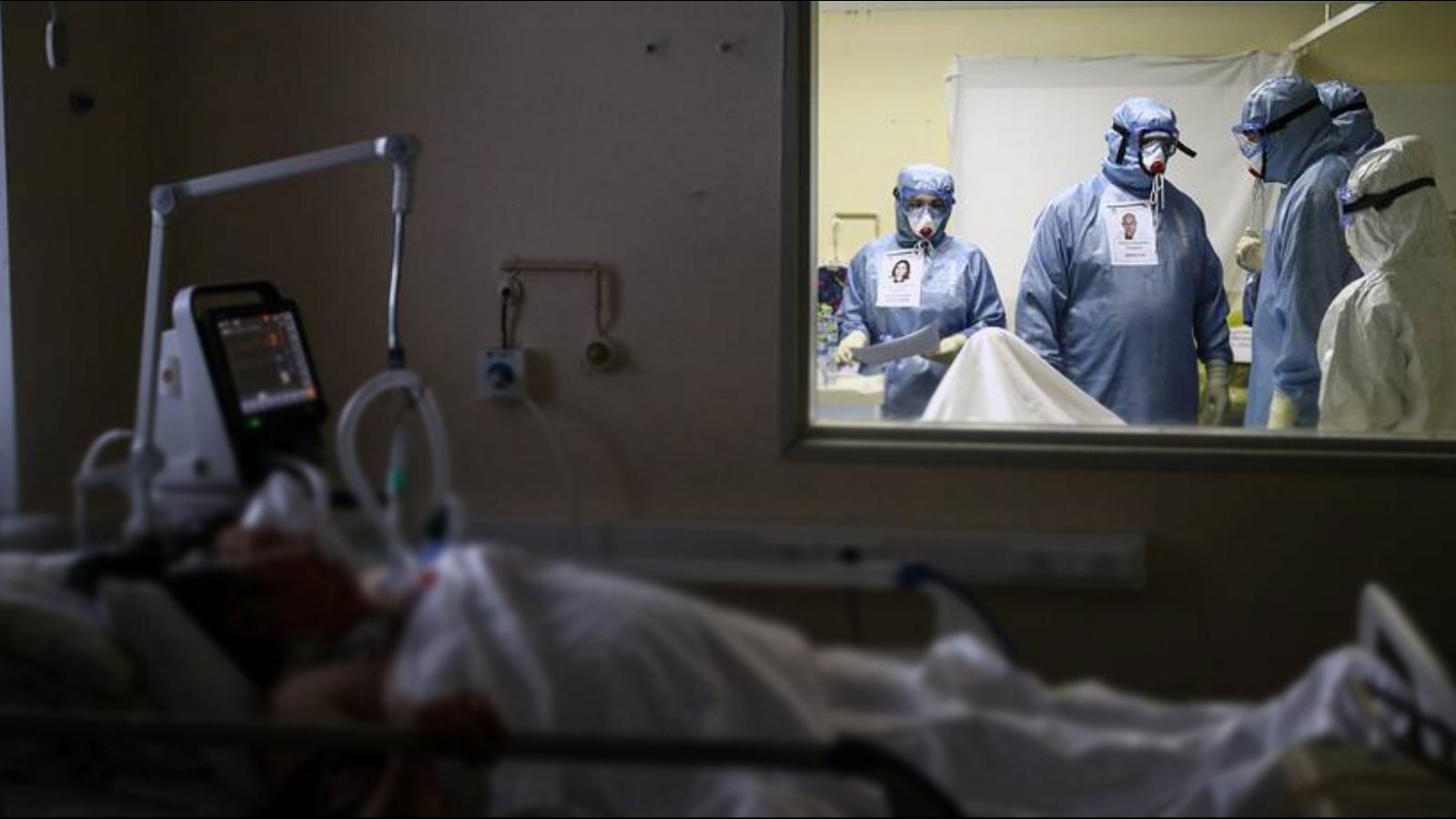 В России выявили максимальное за пандемию число смертей пациентов с COVID-19