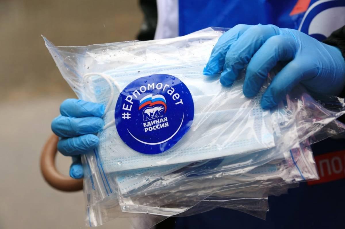 «Единая Россия» создает единый штаб волонтеров для борьбы с пандемией COVID-19