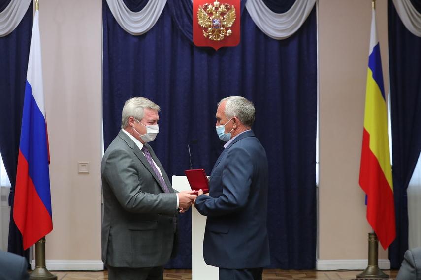 Губернатор вручил госнаграды труженикам донского АПК