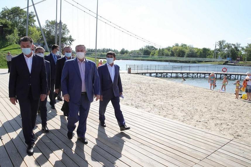 Василий Голубев призвал активизировать работу по развитию сельских территорий