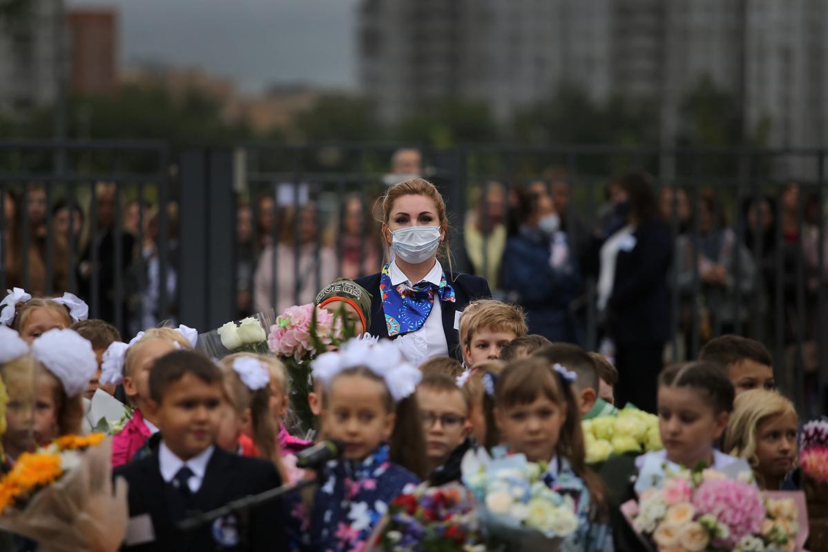 Новый учебный год в российских школах начнется в очном формате