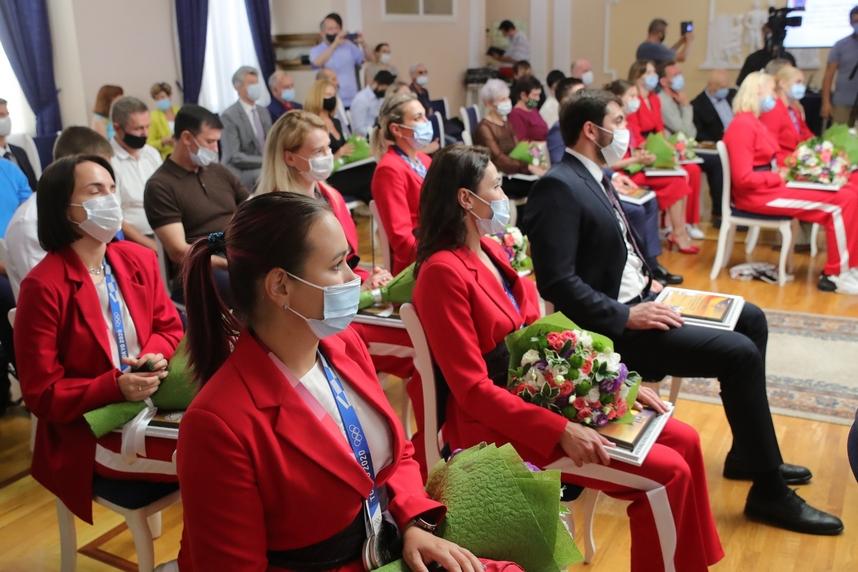 Губернатор: «Донские олимпийцы еще раз дали всем возможность гордиться родной землей»