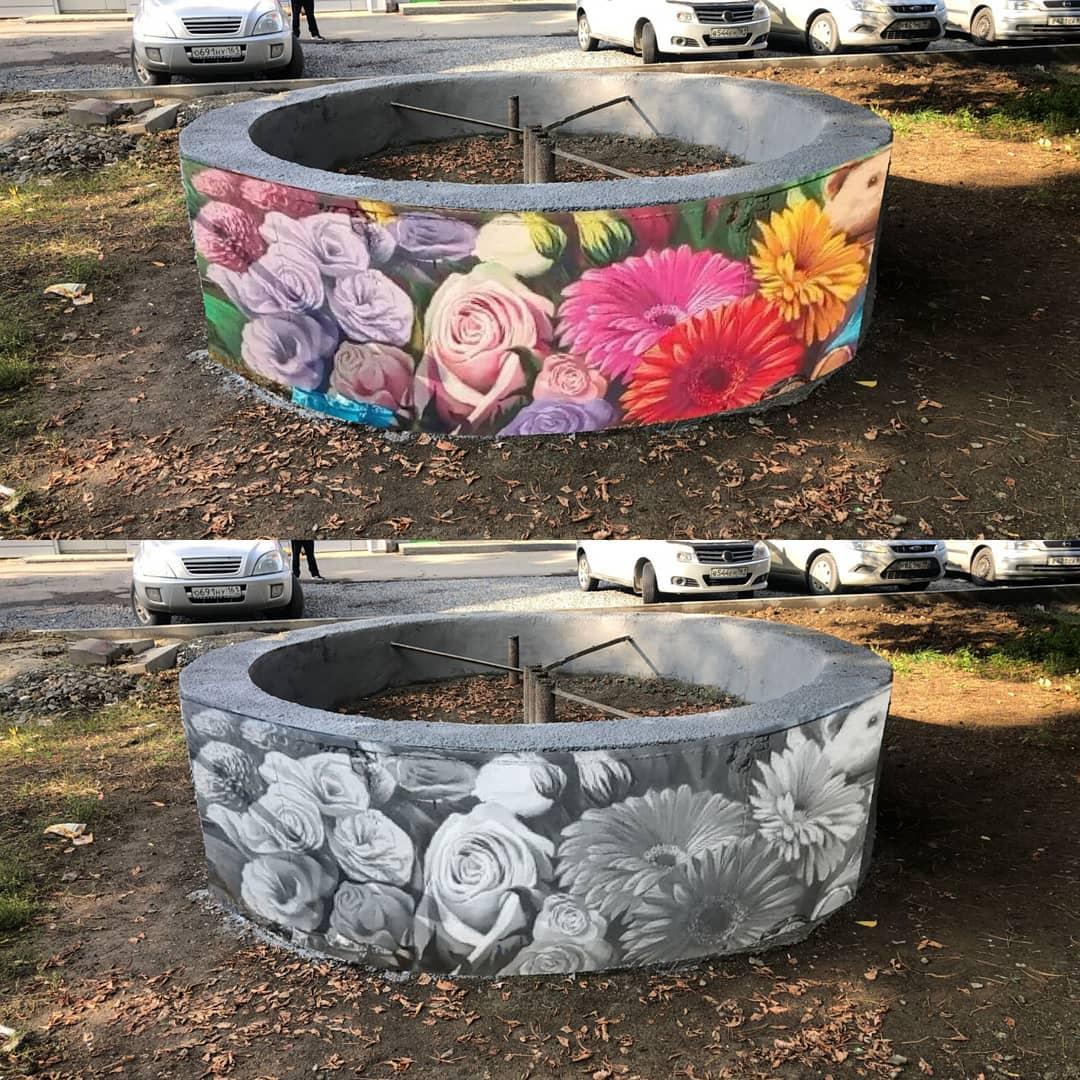 Азовчане выбрали дизайн цветочной композиции в новом сквере