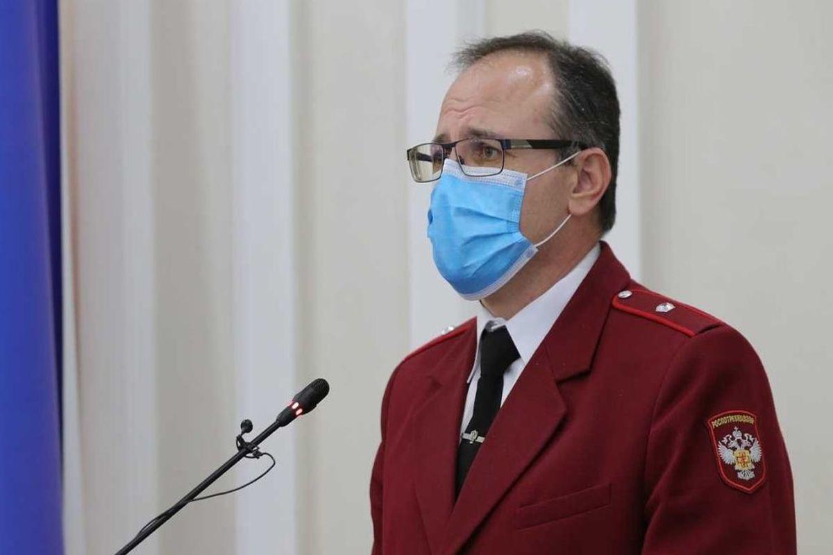 Глава Роспотребнадзора предложил усилить антиковидные меры в Ростовской области