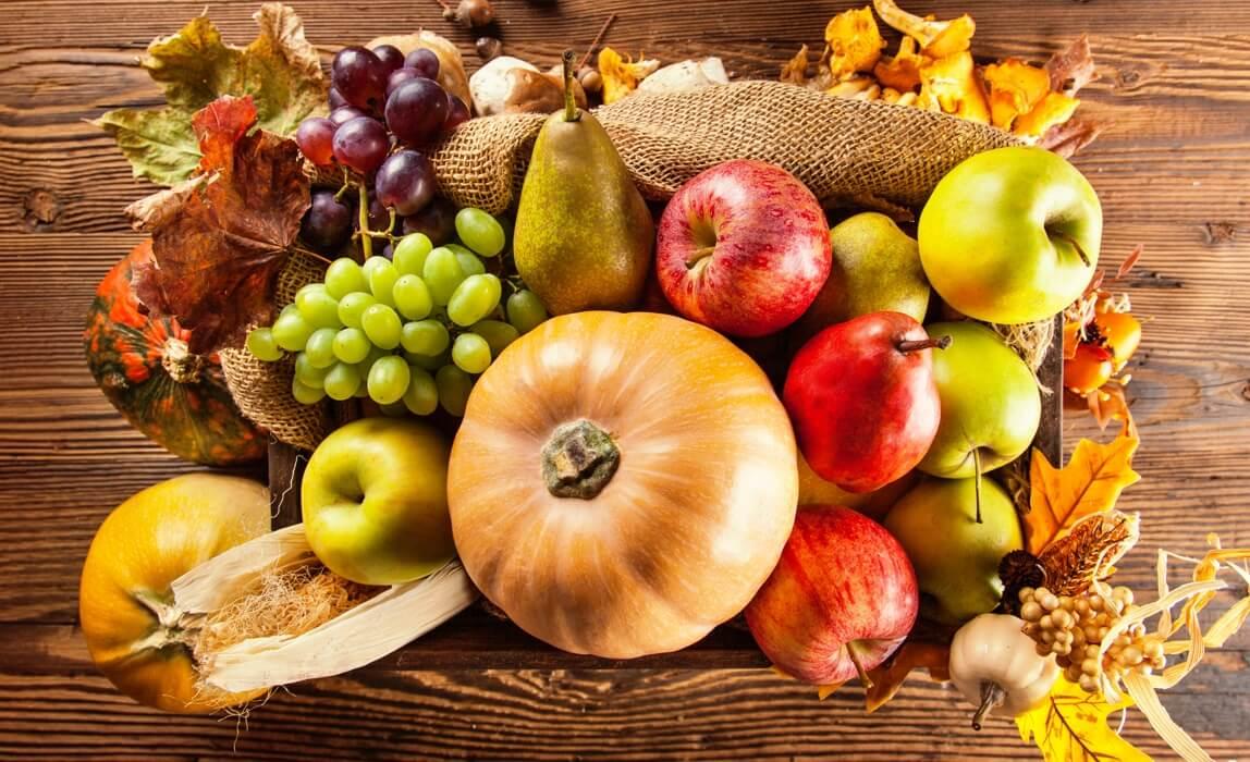 Диетологи назвали продукты для укрепления иммунитета осенью