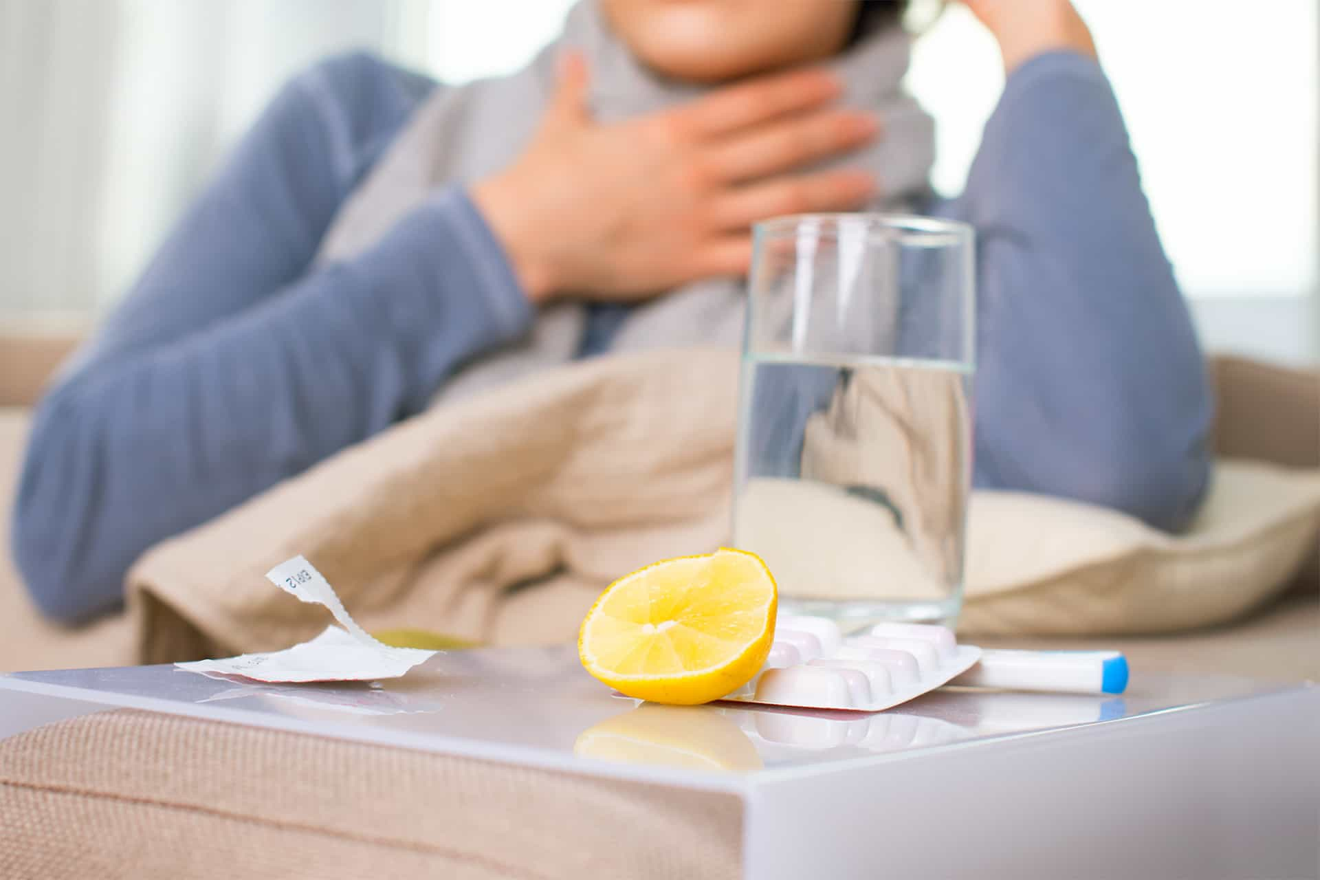 В Роспотребнадзоре рассказали, как действовать, если в семье заболели гриппом или COVID