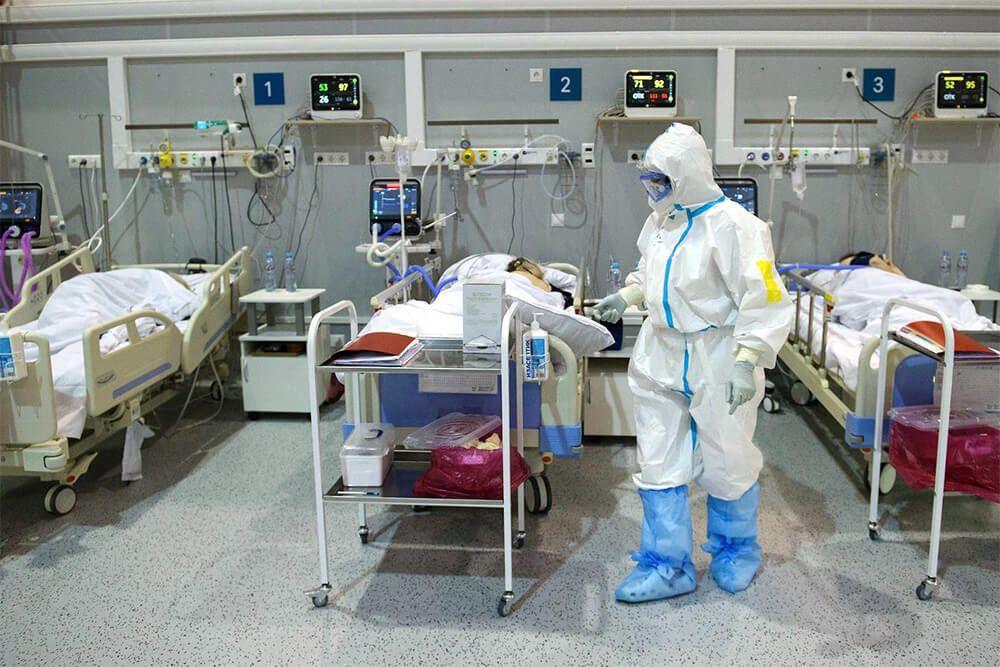 В России за сутки выявлено рекордное число заболевших COVID-19