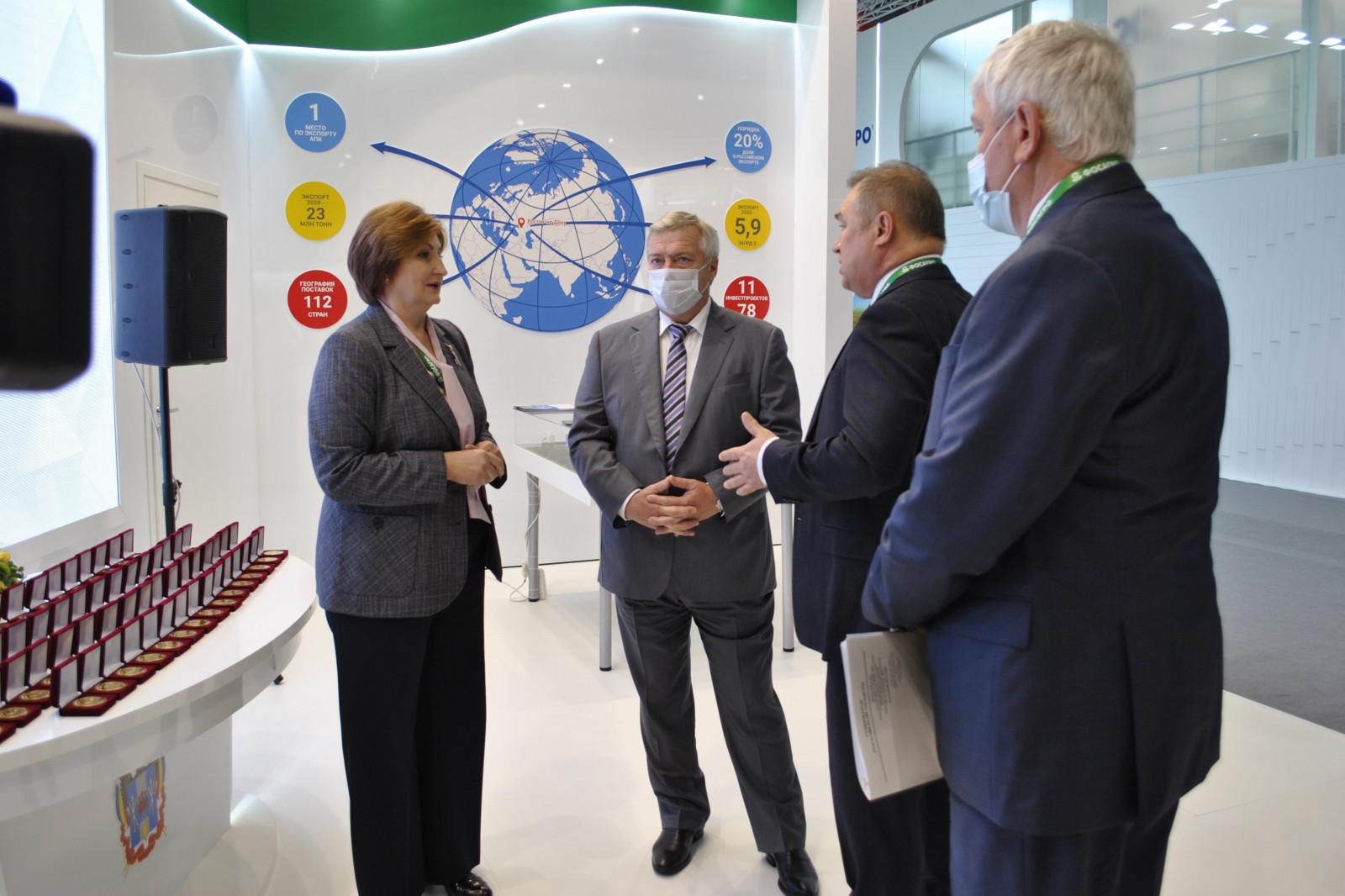 Ростовская область собрала рекордный урожай наград на выставке «Золотая осень-2021»