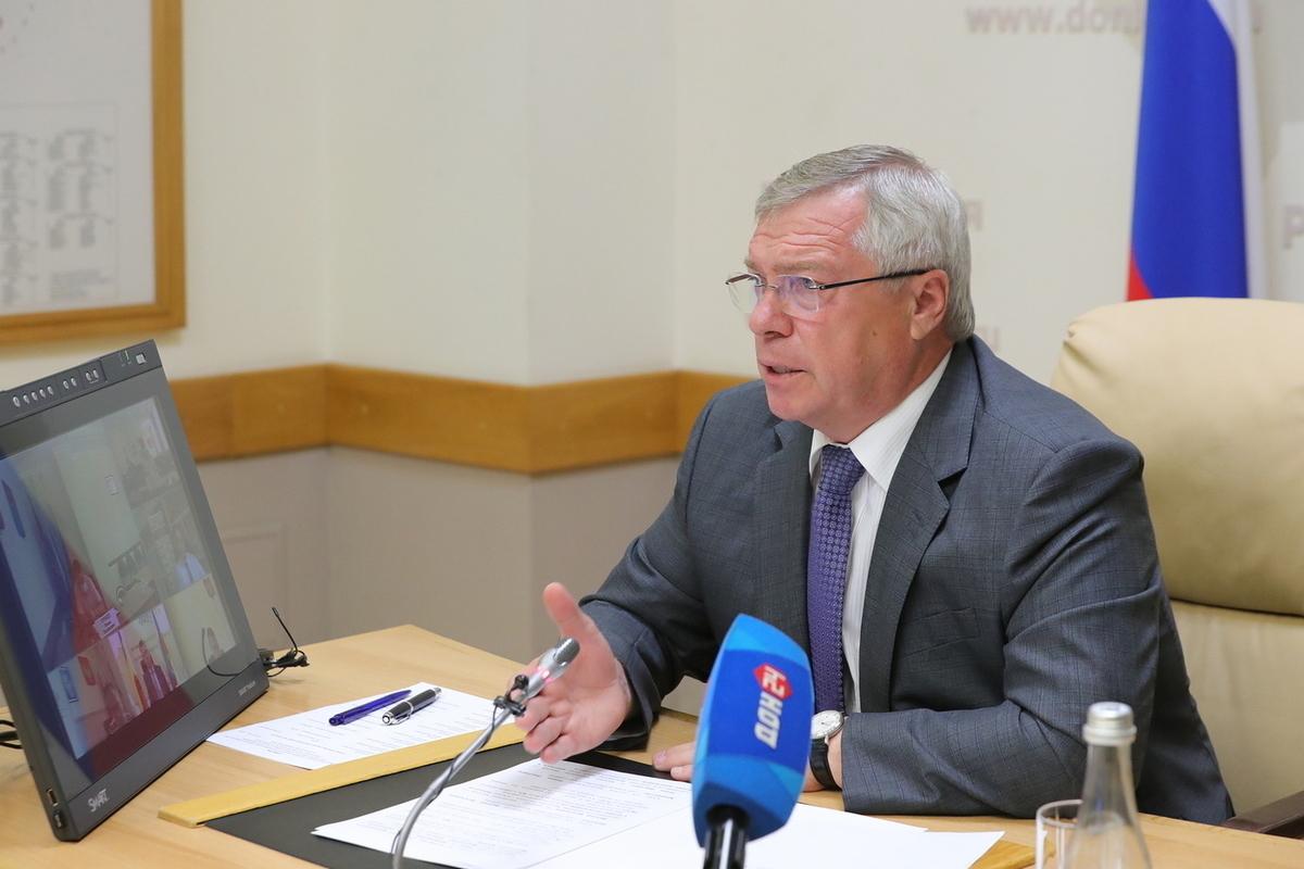 Василий Голубев исключил введение локдауна из-за COVID-19 в Ростовской области